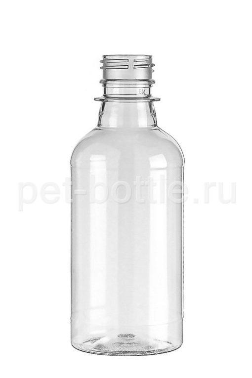 Бутылка 0,25 литра Круглая