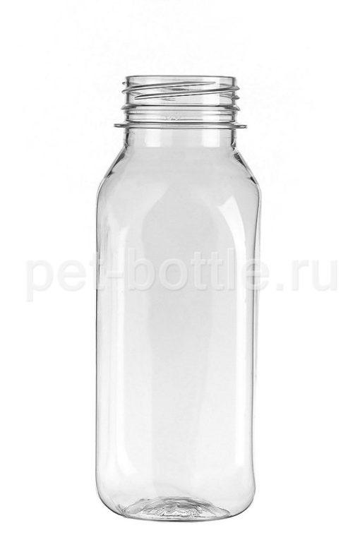 ПЭТ Бутылка 0,25 литра Квадратная