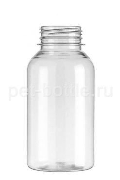 ПЭТ Бутылка 0,25 литра Широкое горло