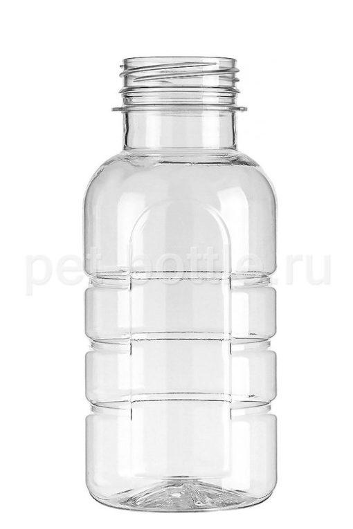 ПЭТ Бутылка 0,3 литра Ребристая