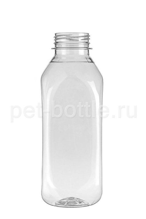 ПЭТ Бутылка 0,5 литра Квадратная