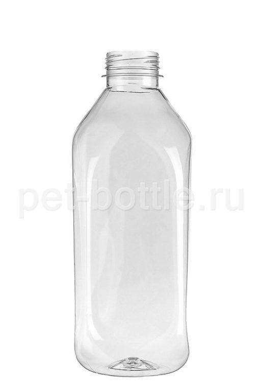 ПЭТ Бутылка 1 л Квадратная